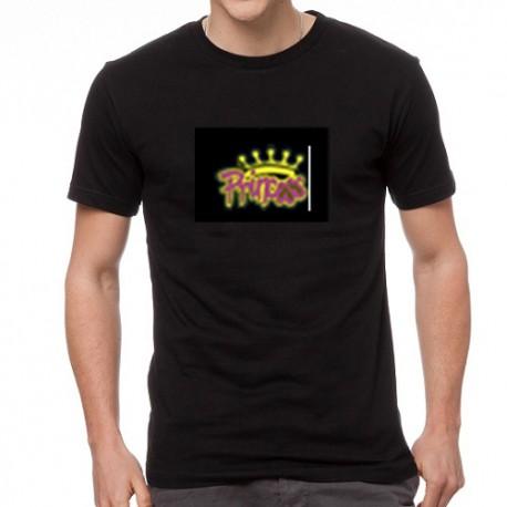 Princess világító equalizeres póló