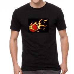 Burning BB világító equalizeres póló