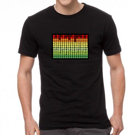 RYG MOD világító equalizeres póló