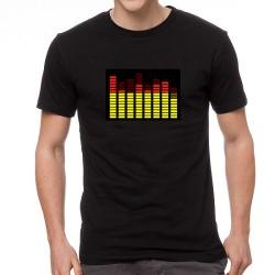 RY EQ világító equalizeres póló