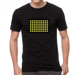 Smile EQ világító equalizeres póló