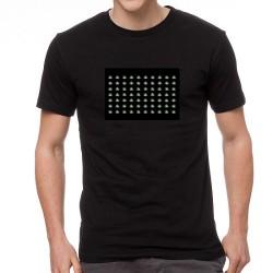 Cannabis EQ világító equalizeres póló