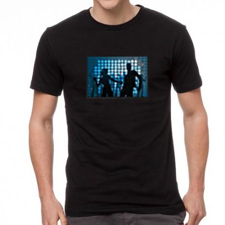 Couple EQ világító equalizeres póló