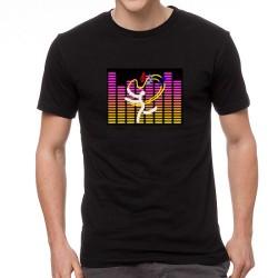 Harmony EQ világító equalizeres póló