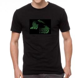 Green Arrow világító equalizeres póló