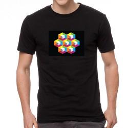 Sandy EQ világító equalizeres póló