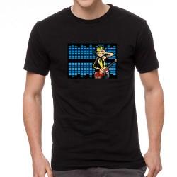 Guitar Star világító equalizeres póló