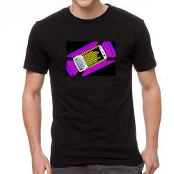 Mobil EQ világító equalizeres póló