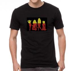 Sexy Girls világító equalizeres póló