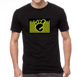 Paw világító equalizeres póló