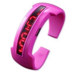 Pink Alien digitális ledes karóra