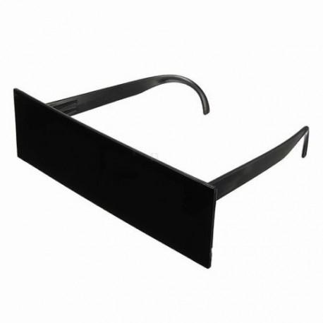 Black Bar paparazzi cenzúra szemüveg extra nagy