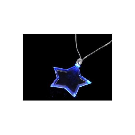 LEDes csillag nyaklánc