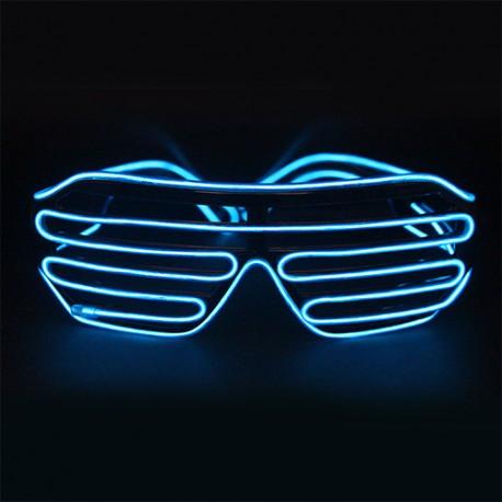 Világító rácsos party szemüveg
