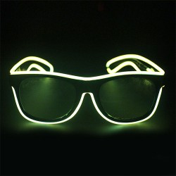 Világító party szemüveg