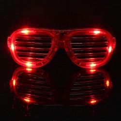 Világító rácsos party szemüveg 1213