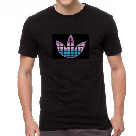 Blue Shade világító equalizeres póló