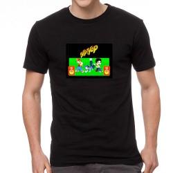 HipHop Dancers világító equalizeres póló