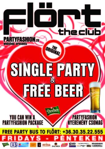 Flört Single Party Partyfashion