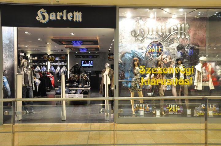 Harlem Árkád Budapest üzlet