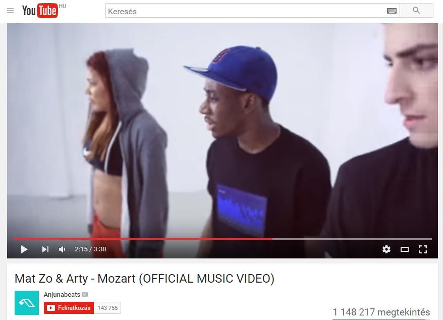 Mat Zo & Arty videóklipje