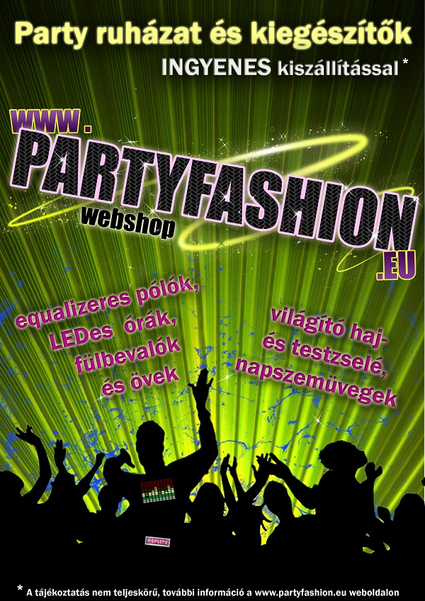 PartyFashion plakát