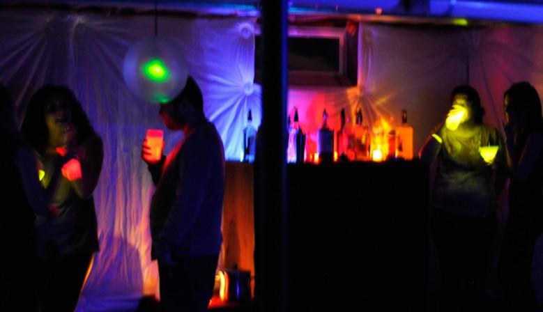 Világító partykellékek