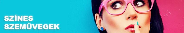 Színes party- és napszemüveg