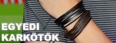 Egyedi Vintage stílusú bőr karkötők